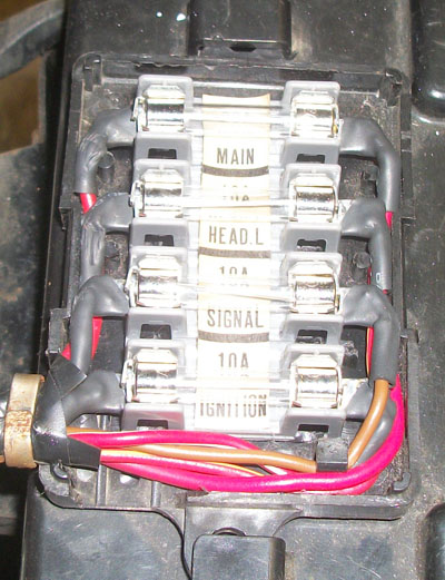 Yamaha Xs850 Fuse Box | Repair Manual on
